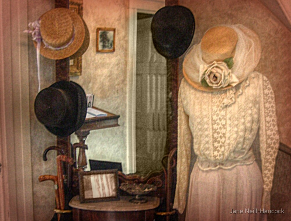Andrew and Lizzie Borden's Hats by Jane Neill-Hancock