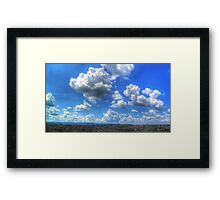 ©HCS To Much Clouds HDR Cumolonimbus Congestus Framed Print