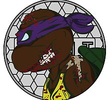 Zombie Donatello by PartyMoth59