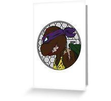 Zombie Donatello Greeting Card