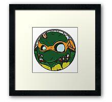 Zombie Michelangelo Framed Print