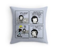 Jamie Campbell Bower Effect Throw Pillow