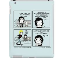 Jamie Campbell Bower Effect iPad Case/Skin