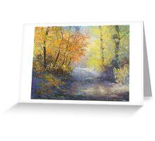 A Tranquil Trail Greeting Card