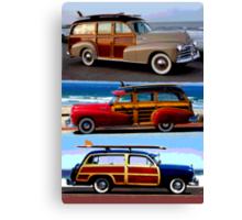 Woody Woody Woody Canvas Print