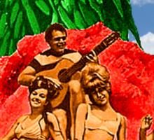 Beach Girls and the Monster Sticker