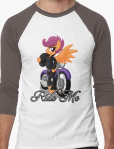 Ride Me (My Little Pony: Friendship is Magic) Men's Baseball ¾ T-Shirt