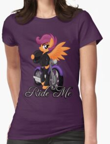 Ride Me (My Little Pony: Friendship is Magic) Womens Fitted T-Shirt