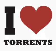 I ♥ Torrents by posx ★ $1.49 stickers
