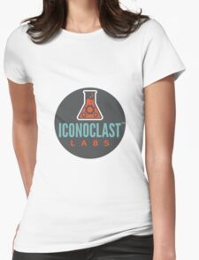 Iconoclast Labs Bubble Womens Fitted T-Shirt