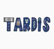 TARDIS LOGO One Piece - Short Sleeve