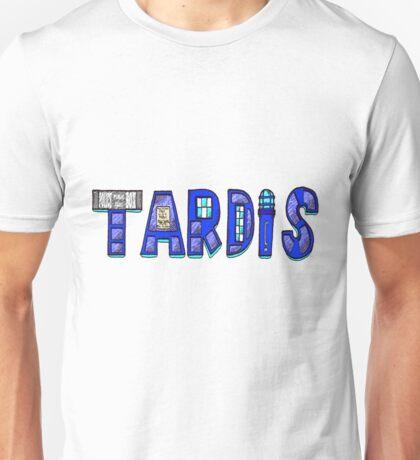 TARDIS LOGO Unisex T-Shirt