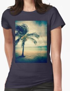 Palm Island Womens Fitted T-Shirt