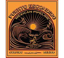 MEXICAN PIPELINE PUERTO ESCONDIDO Photographic Print