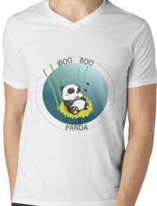 BOO BOO PANDA - No1 Mens V-Neck T-Shirt