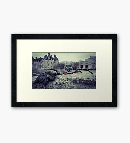 Fallen Heroes Framed Print