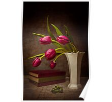 Love Of Tulips Poster