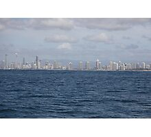 Gold Coast from the Sea Photographic Print