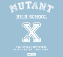Mutant High School (Dark Colours Version) Baby Tee