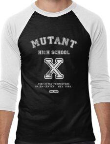 Mutant High School (Dark Colours Version) Men's Baseball ¾ T-Shirt
