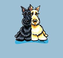 Two of a Kind Scotties Unisex T-Shirt