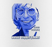 John Denver ~ Blue Christmas by V-Art