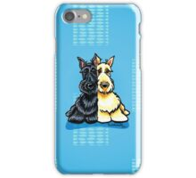 Two of a Kind Scotties iPhone Case/Skin