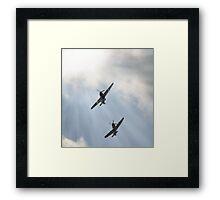Spitfire and Hurricane Framed Print