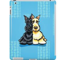 Two of a Kind Scotties iPad Case/Skin