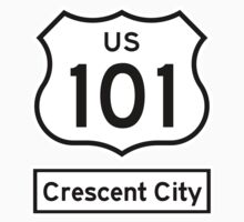 US 101 - Crescent City by IntWanderer