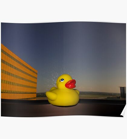 Rubber Ducky Hero Poster