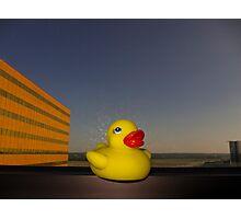 Rubber Ducky Hero Photographic Print