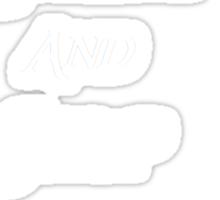 Thilbo darks Sticker