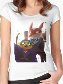Tux Women's Fitted Scoop T-Shirt