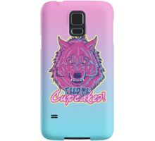 """""""Feed Me Cupcakes!"""" iPhone Case Samsung Galaxy Case/Skin"""