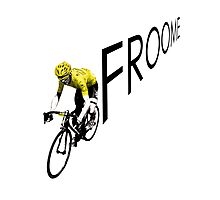 Chris Froome Tour de France 2013 Winner Sky Cycling Photographic Print