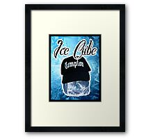 Ice Cube Poster Framed Print