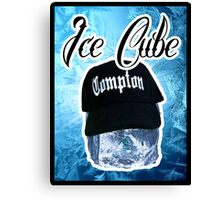 Ice Cube Poster Canvas Print