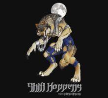 """""""Shift Happens"""" Full Moon Werewolf by Christy Grandjean"""