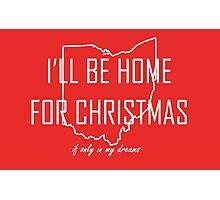 Home for Christmas (Ohio) Photographic Print