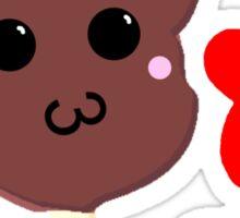 Kawaii Pixel Mickey Premium Ice Cream Bar Sticker