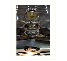 Ford radiator cap Art Print