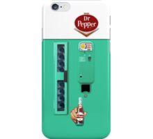Vintage Dr. Pepper Vending Machine iPhone Case/Skin
