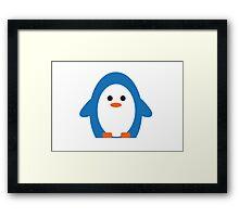 Peddler Penguin Framed Print