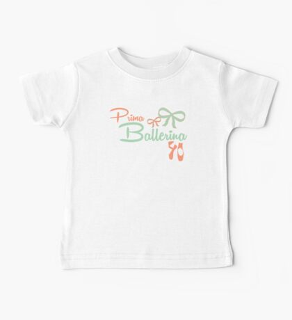 Prima Ballerina Baby Tee
