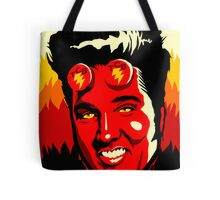 Hellvis Boy Tote Bag