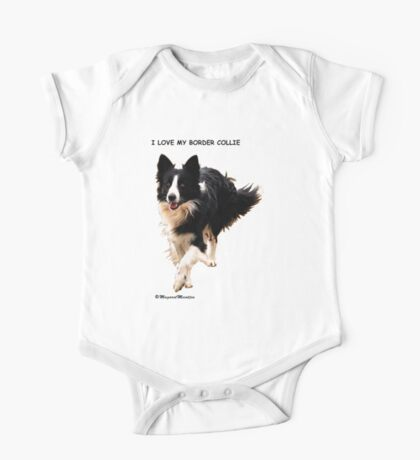 BORDER COLLIE TEESHIRT  -  ON REQUEST Kids Clothes