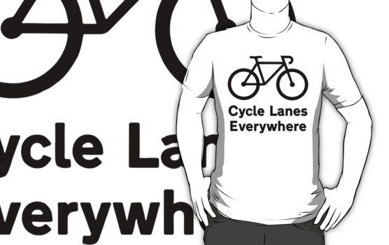 Cycle Lanes Everywhere by PaulHamon