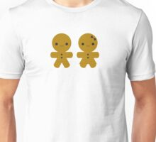 Gingerbread Boy & Girl Unisex T-Shirt