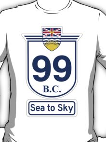 British Columbia 99 - Sea to Sky T-Shirt